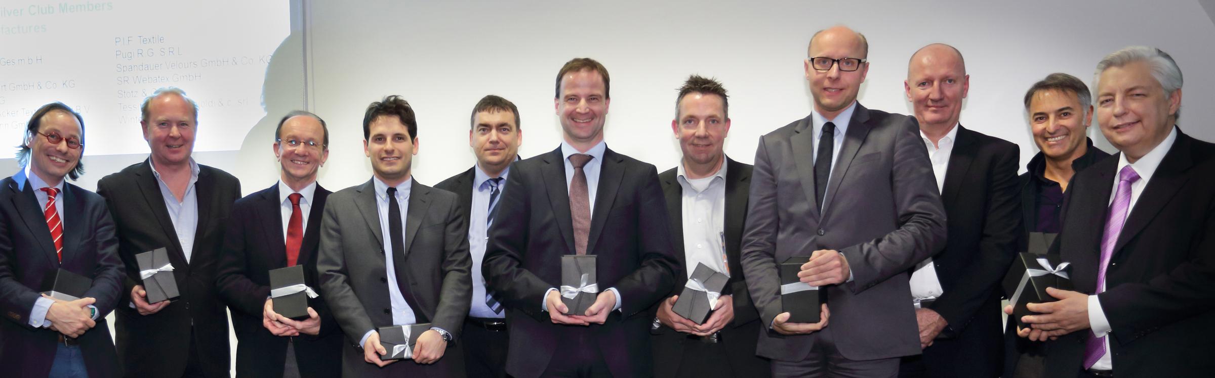 Baumann Dekor Trevira Silber Member Club Award